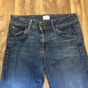 Hudson Beth Midrise Crop Baby Boot Jeans
